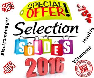 sélection Soldes d'hiver 2016
