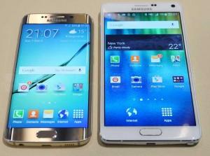 Samsung S6 contre S6 Edge