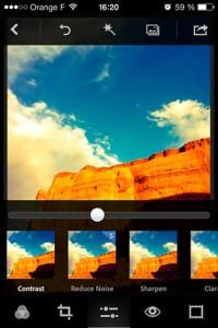 Polarize une App de retouche photos pour android et iphone