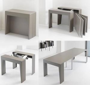 Les meubles à rallonges