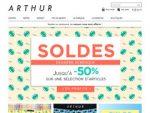 Offres Boutique Arthur Valide