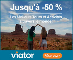 Offre Excursions viator